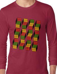 Geek's Cubes Long Sleeve T-Shirt