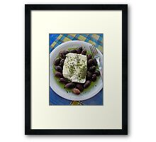 Gourmet Travels - Greece Framed Print