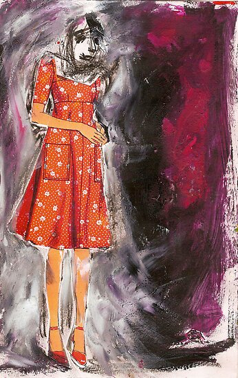 lonely girl, 2011 by Thelma Van Rensburg