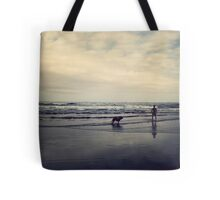 Doggie Beach Fun II Tote Bag