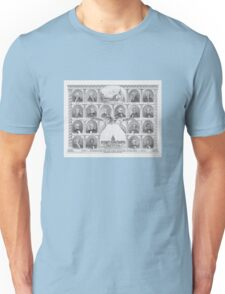 Presidents Of The United States 1776 - 1876  Unisex T-Shirt