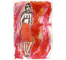 nude in red, 2011 Poster