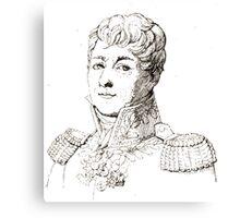Jacques Marie Noël Frémy Deconchy Vincent Martel d'après Delaval Canvas Print
