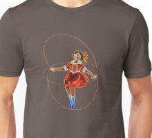 Skipping Girl (Minus Vinegar) Unisex T-Shirt