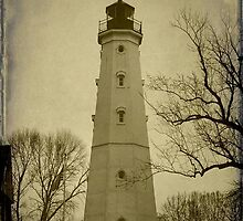 Milwaukee's North Point Lighthouse ©  by Dawn M. Becker