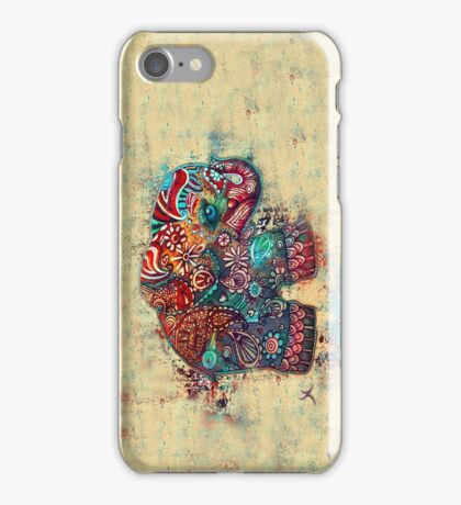Vintage Elephant iPhone Case/Skin