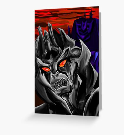 All Hail Megatron Greeting Card