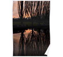 Cosgrove sunset Poster