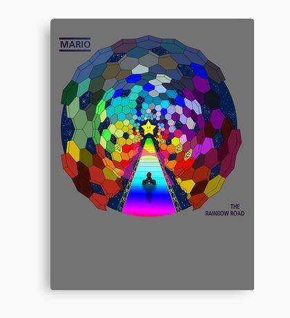 The rainbow road Canvas Print