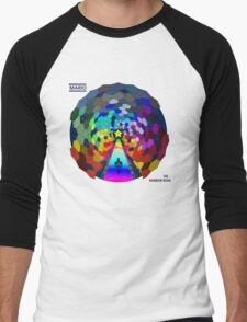 The rainbow road Men's Baseball ¾ T-Shirt