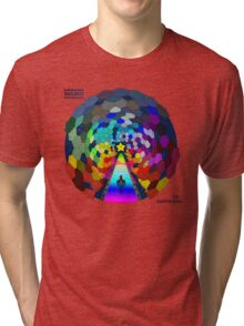 The rainbow road Tri-blend T-Shirt