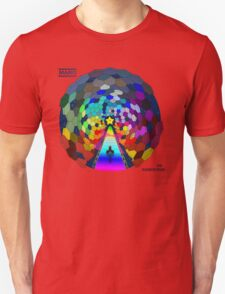 The rainbow road Unisex T-Shirt
