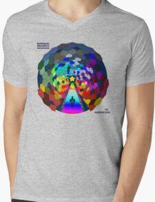 The rainbow road Mens V-Neck T-Shirt
