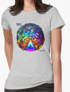 The rainbow road Womens Fitted T-Shirt