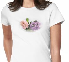 The Sweet Scent of Hyacinths  - JUSTART ©  Womens Fitted T-Shirt