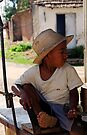 Young Cuban boy, Trinidad, Cuba by David Carton