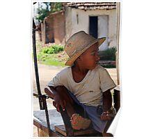 Young Cuban boy, Trinidad, Cuba Poster