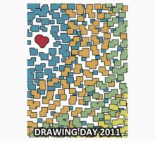 Colored Love - Drawing Day 2011 by VTimesV