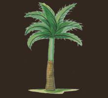 Skinny Palm by Leslie Gustafson