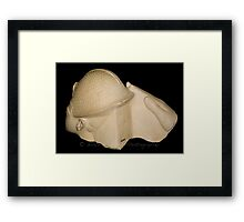 Egyptian Bust (Back View) Framed Print