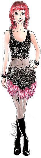 Rockin' Chicks: Hayley Williams by Brittany LeBold