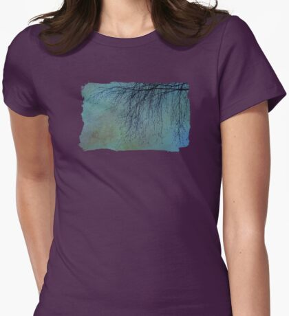 Hanging Tree - JUSTART ©  Womens Fitted T-Shirt
