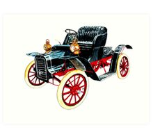 1910 Cadillac Art Print