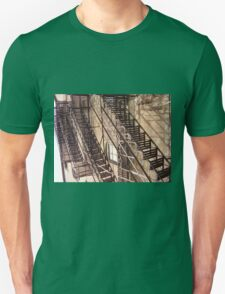 Urban staircase Unisex T-Shirt