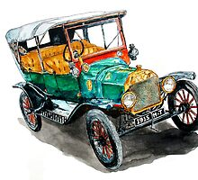 1915 Model T Ford by Ob-Art