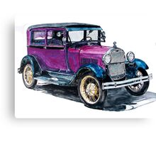 1928 Model A Ford Canvas Print