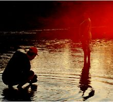 WHEN THE SUN SETS - MAPUNGUBWE  by Magriet Meintjes
