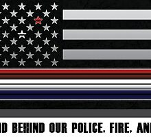 Police Fire EMS Tribute by greaterthanme
