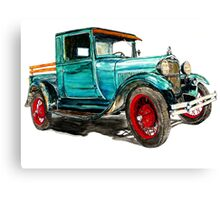 1929 MODEL A FORD Canvas Print