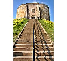 Clifford's Tower Symmetry Photographic Print