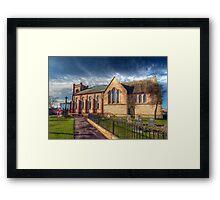 St Peter's Church Fleetwood - HDR Framed Print