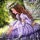 PURPLE FAIRY TWO by Pamela Plante