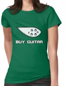 Buy Guitar Womens Fitted T-Shirt