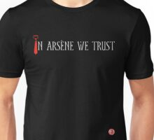 In Arsène We Trust (Red & White) Unisex T-Shirt