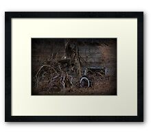 Overgrown and underused Framed Print