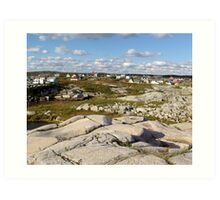 Peggy's Cove-A Different View Art Print
