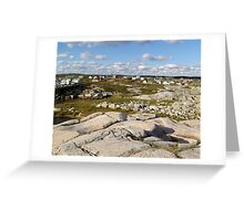 Peggy's Cove-A Different View Greeting Card