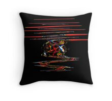 the opium affair Throw Pillow