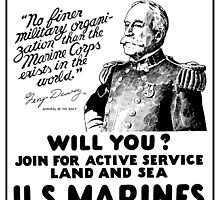 US Marines Recruiting - He Did His Duty by warishellstore