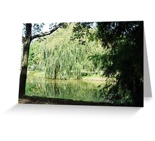 ~` Willow Lake `~ Greeting Card