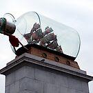 ship in a bottle by Bronwen Hyde