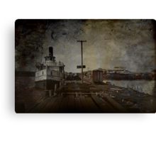Dockyards Canvas Print