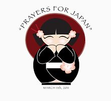 Prayers for Japan (Girl) Unisex T-Shirt