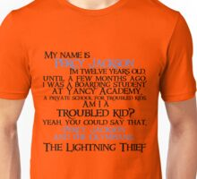 """Am I a troubled kid? Yeah. You could say that"" Quote Unisex T-Shirt"