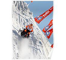 Steep Climb Poster