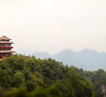 Pocket China - Tianzi pavilion by Nicolas Noyes